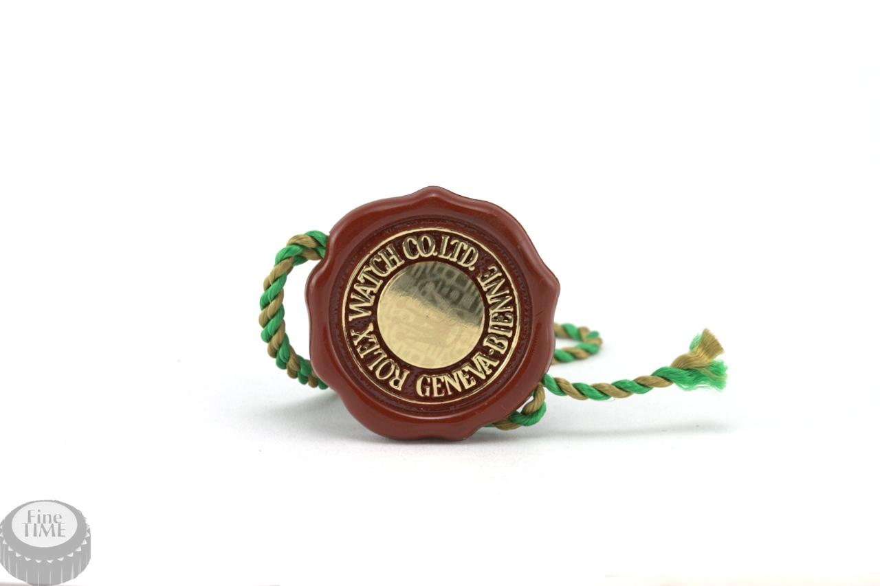 rolex chronometer tag