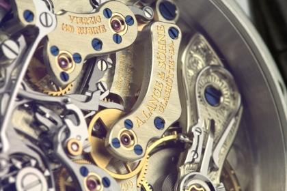 A Lange Sohne Datograph Flyback Platinum 403035