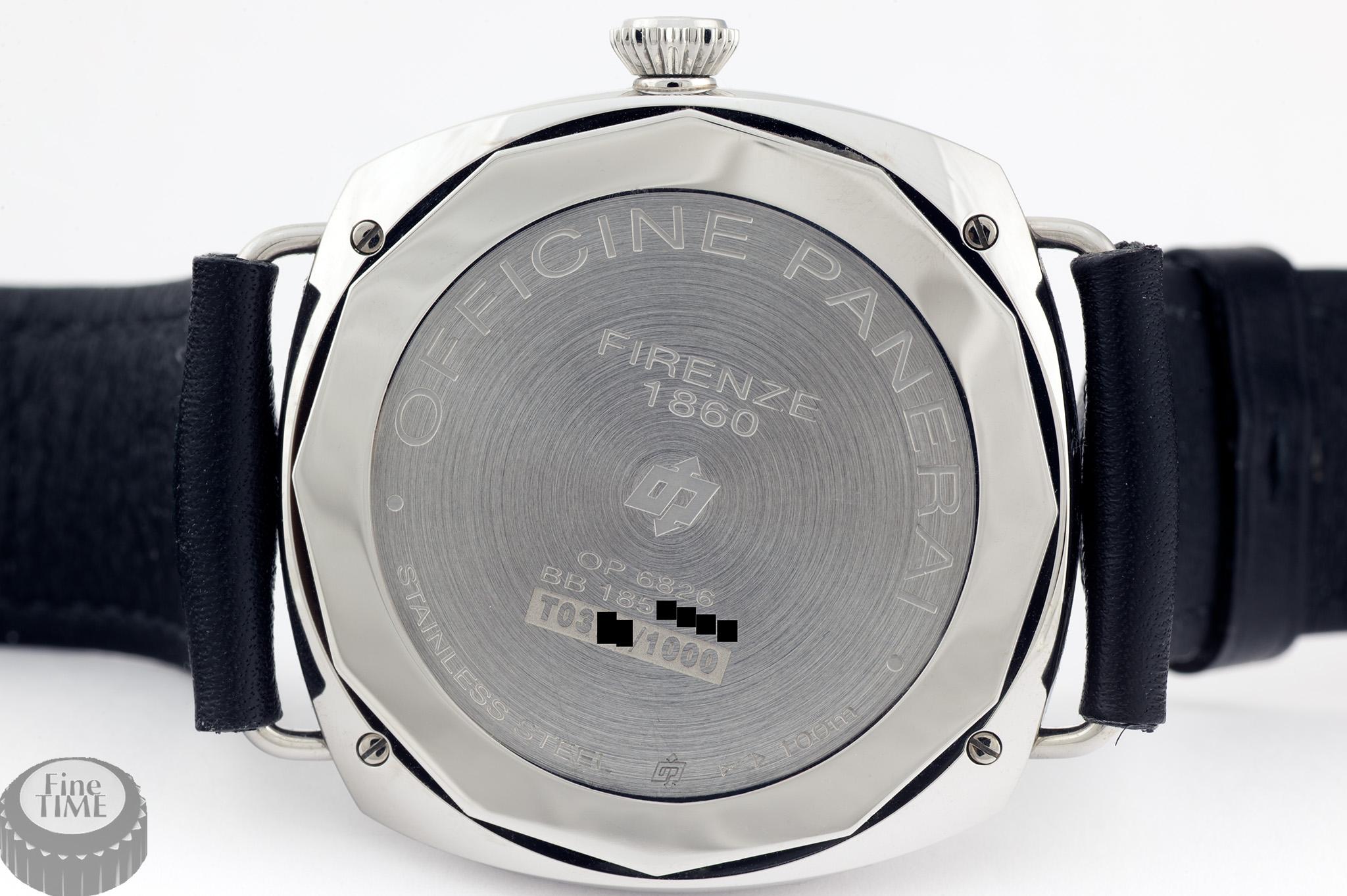 Panerai PAM 380 Black Seal Radiomir