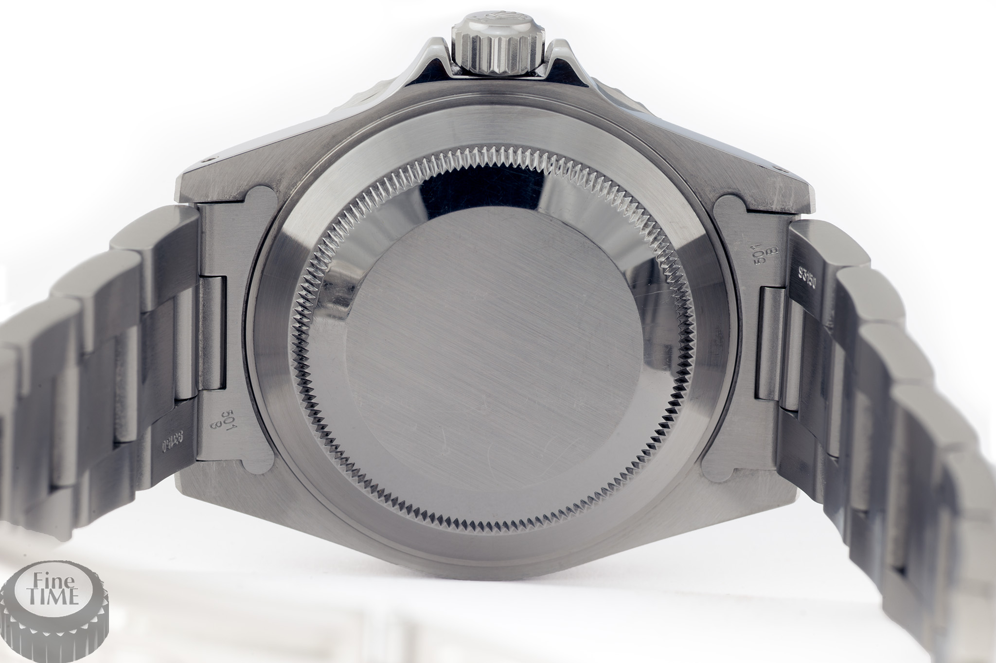 Rolex Submariner 14060M Y serie back case