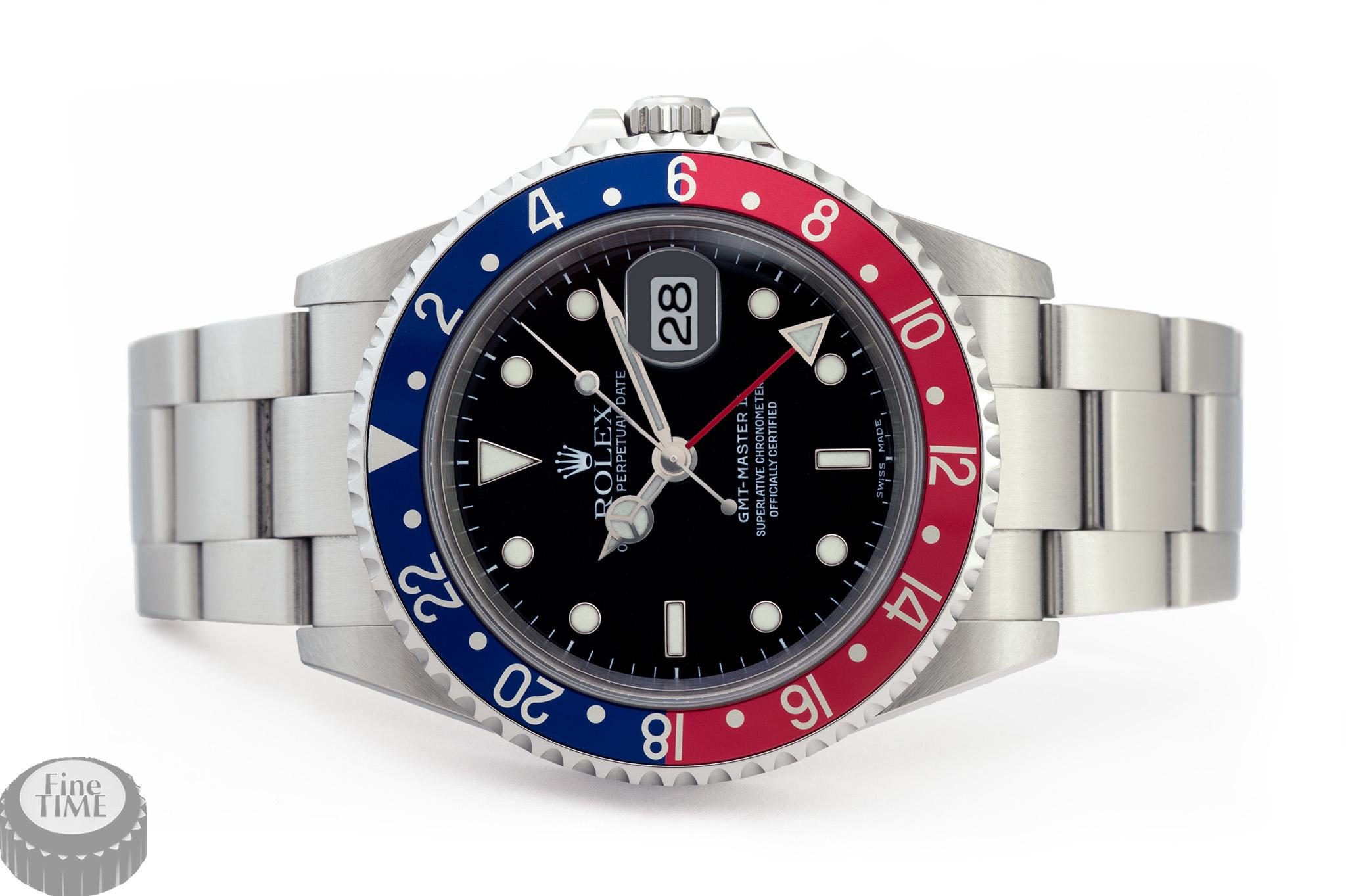 Rolex GMT-Master 2 16710 pepsi